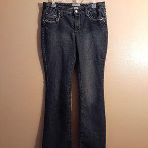 🌟Earl Jean Embellished Bootcut Women's Jeans